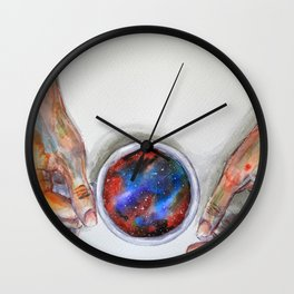 Taking some space Wall Clock
