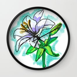 LILY ME UP Wall Clock