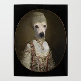 """Marie """"Chien""""toinette Poster"""