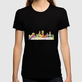Jacksonville, Florida skyline MCLR 2 T-shirt