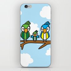 Proud Parrot iPhone & iPod Skin