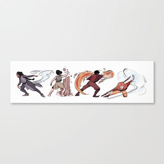 Avatar Elements Canvas Print
