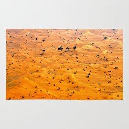 orange sand Rug
