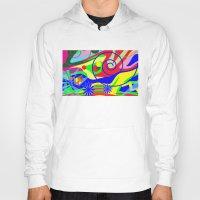 graffiti Hoodies featuring Graffiti by DesignsByMarly