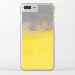 A Simple Abstract Clear iPhone Case