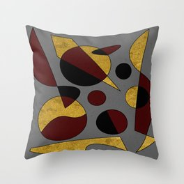 Abstract #132 Throw Pillow