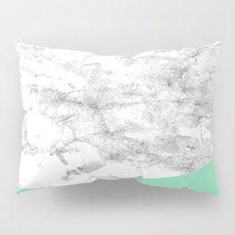 Geometric Watercolour Marble Pillow Sham