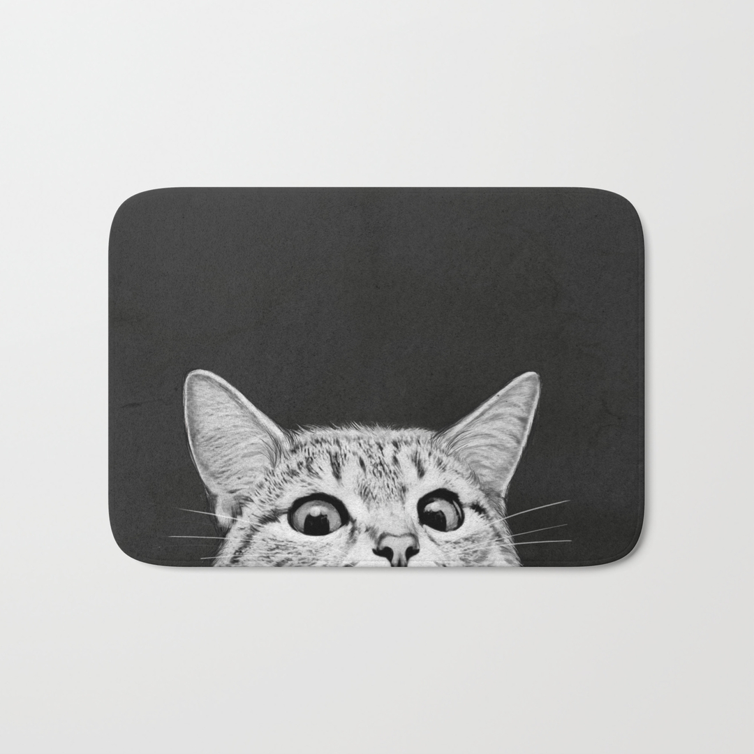 pop-art bath mats | society6