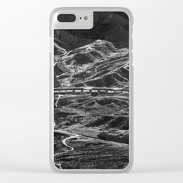 DECEIVED LOOKS Clear iPhone Case