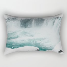 Goðafoss | Edge of the Arctic Rectangular Pillow