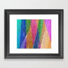 Festive Mountains Framed Art Print