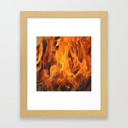 Too Hot to Handle Framed Art Print