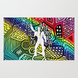 DISCO VAMPIRE HALLOWEEN OUTFIT Rug