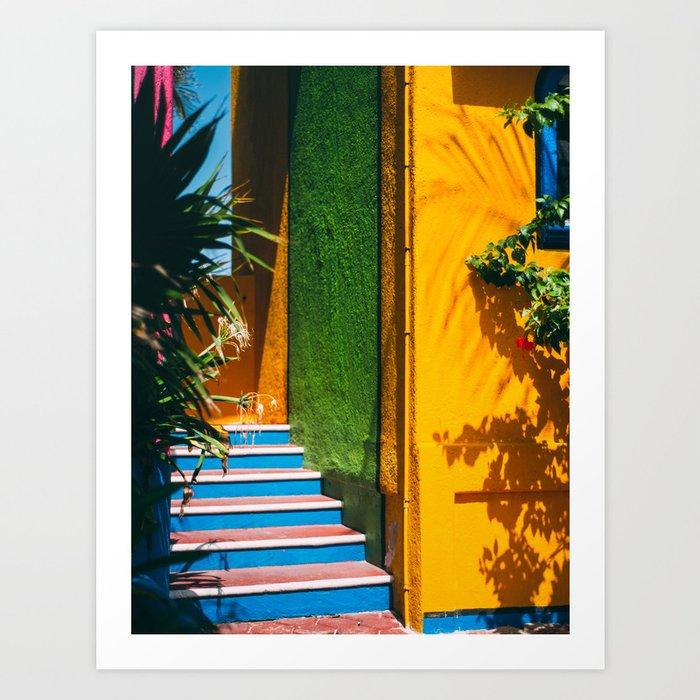 Caribbean Sherbert Casa Kunstdrucke