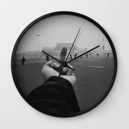 Ai Weiwei - Middle Finger Wall Clock