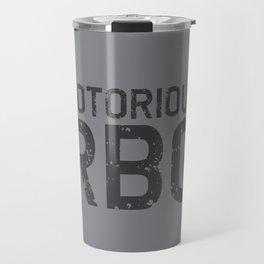 Notorious RBG R.B.G Travel Mug