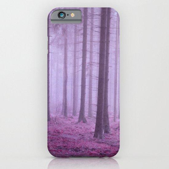misty trees iPhone & iPod Case