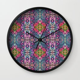 Fractal Art Stained Glass G311 Wall Clock