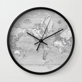 Atlas of the World Wall Clock