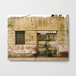 Downtown Piura Metal Print