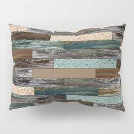 Wood in the Wall Pillow Sham