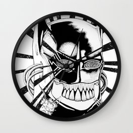 BAT_MAN Wall Clock