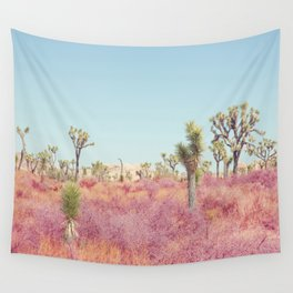 Surreal Desert - Joshua Tree Landscape Photography Wall Tapestry