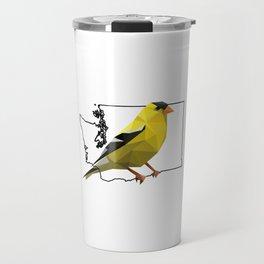 Washington – American Goldfinch Travel Mug