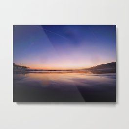 Ocean Sunset #3 Metal Print