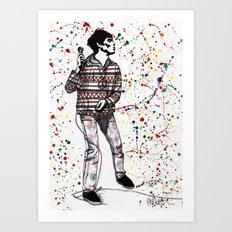 TWISTERELLA - Stoned Art Print