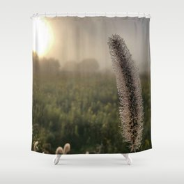 Dew Dropplets Shower Curtain