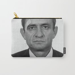 Johnny Cash Mugshot Carry-All Pouch