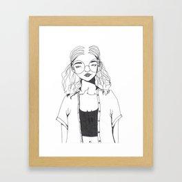 Fondly Framed Art Print