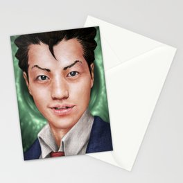 Ace Attorney Stationery Cards