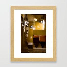 Paris Train Framed Art Print