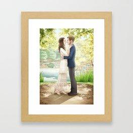 Fitzsimmons - Wedding Portrait Framed Art Print