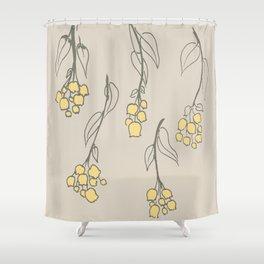 falling down Shower Curtain