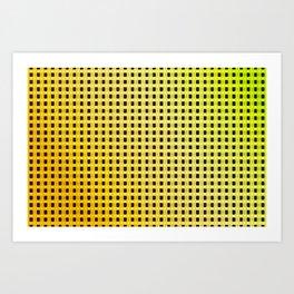 Small and little summer pattern Art Print