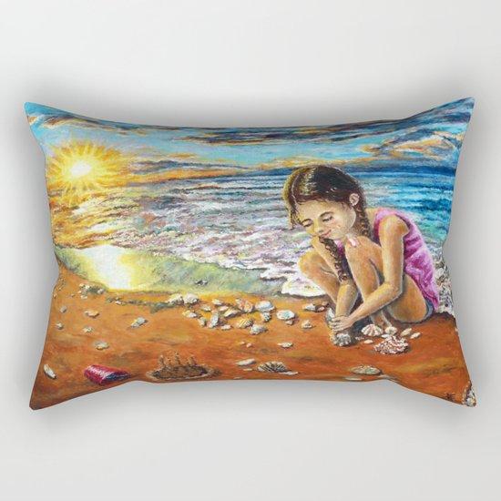 Treasure Hunter Rectangular Pillow