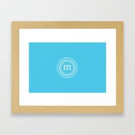 All around M Framed Art Print