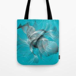 Abstract Fish Tote Bag
