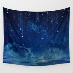 Falling stars I Wall Tapestry