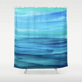 Cerulean Sea Shower Curtain