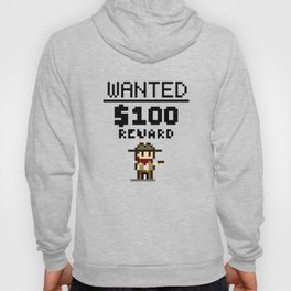Wanted Poster Hoody