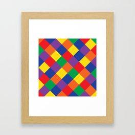 cozy tiles Framed Art Print