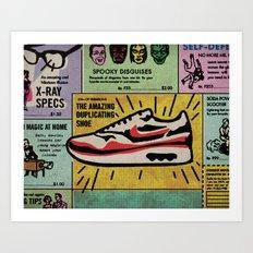MAX100 / 009: Tempted Art Print