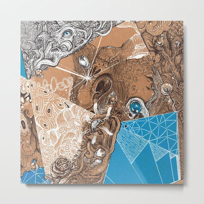 Land subconscious Metal Print