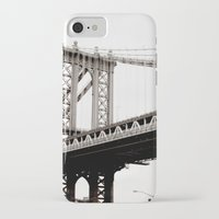 brooklyn iPhone & iPod Cases featuring Brooklyn by Miuk