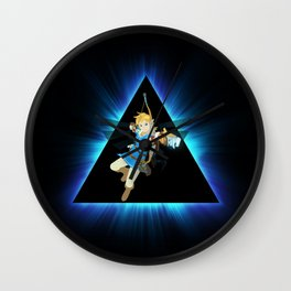ZELDA TRIANGEL Wall Clock