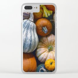 California Vegetables Clear iPhone Case